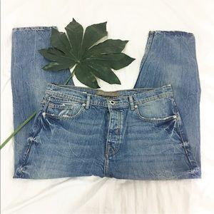 Used / Zara destroy denim jeans